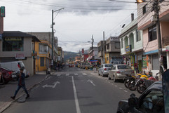 Small town outside of Quito
