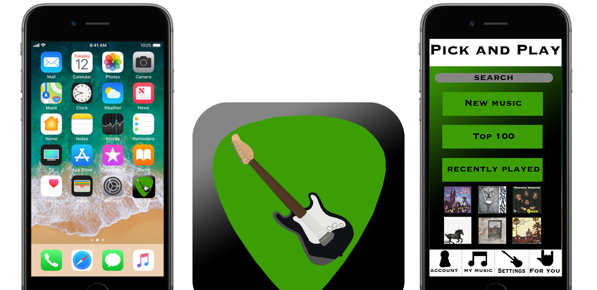 Pick and Play App Design