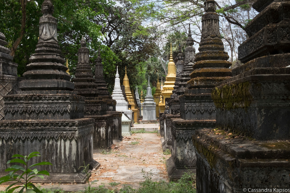 Cemetery Outside of Angkor Wat