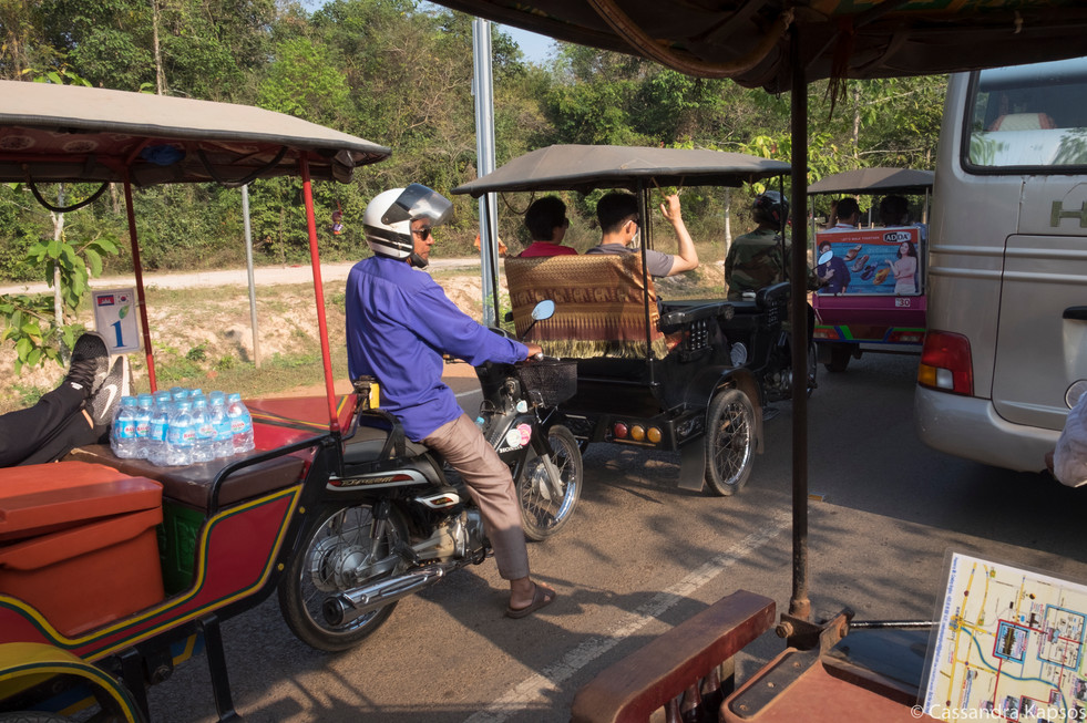 Traffic to Temples