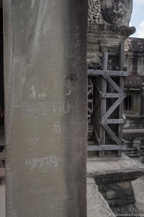Angkor Wat Graffiti