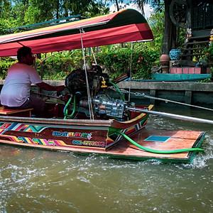 Ladmayom Floating Market, Bangkok