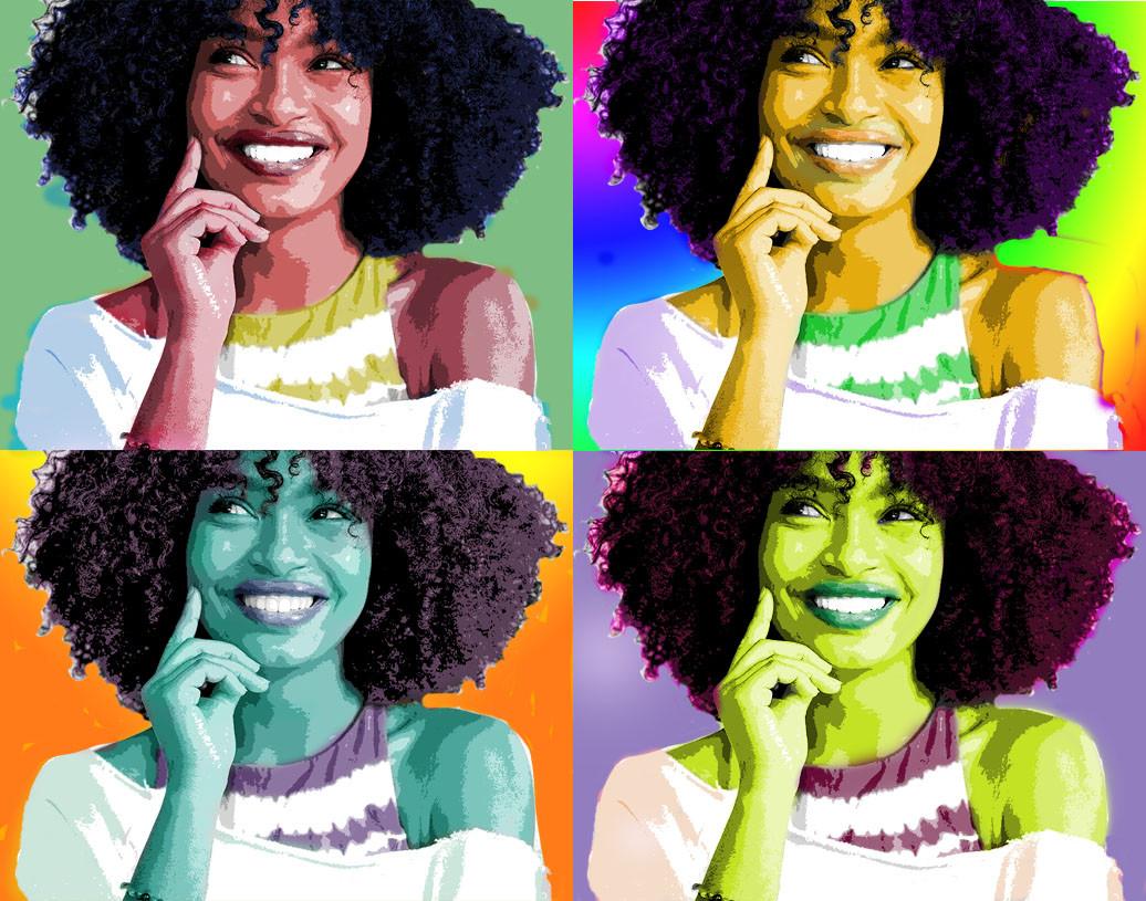 Abijah pop art - VAP digital art