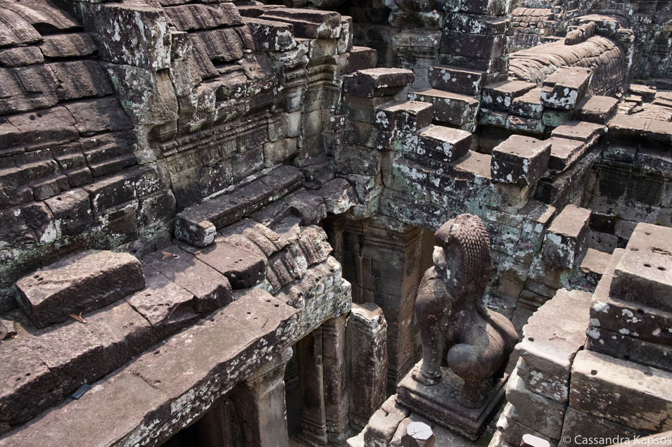 Angkor Temple Layers