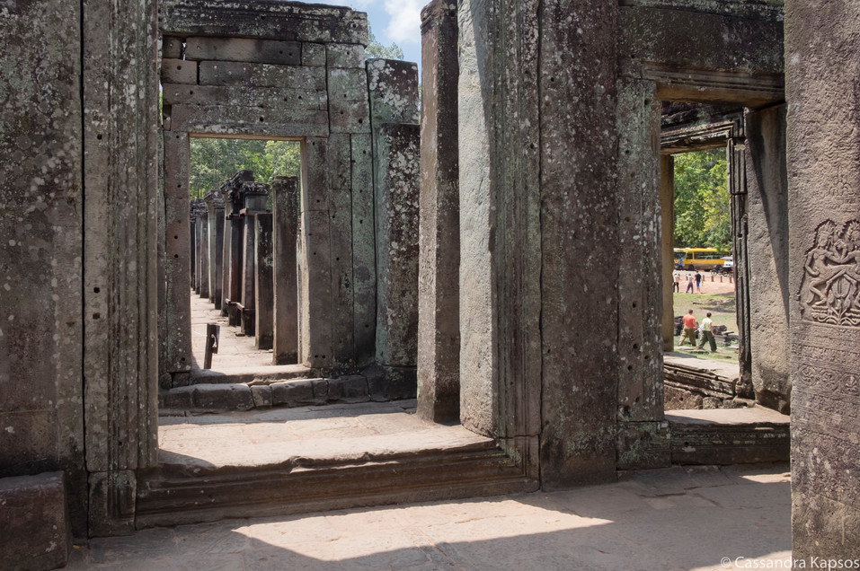 Angkor Temple Hallways