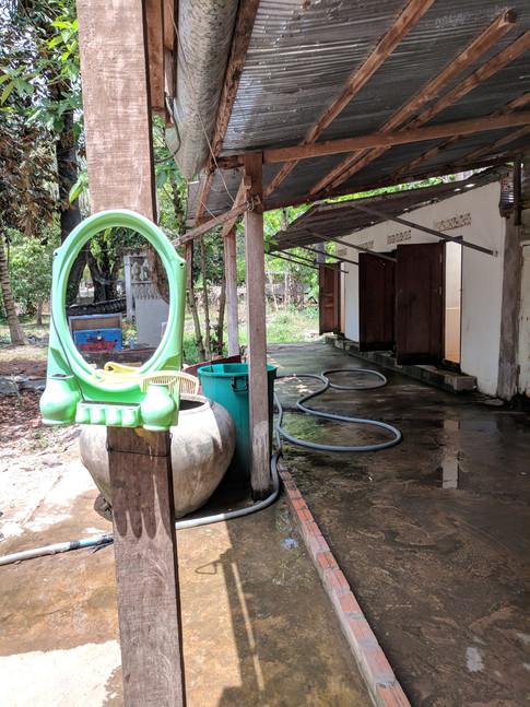 Washroom at Angkor Wat