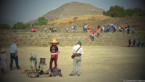 Tourist and vendors