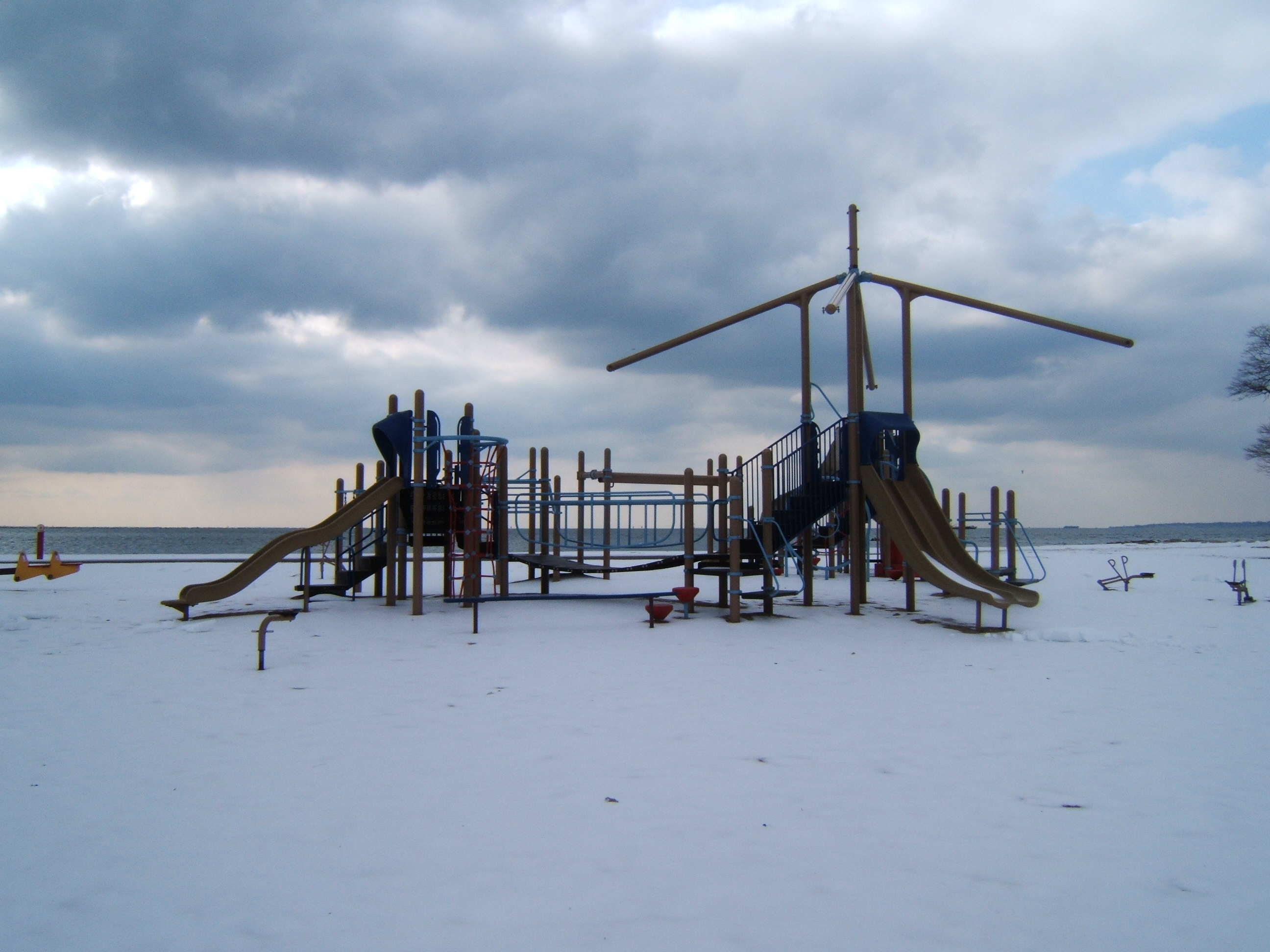 New Haven, CT Winter playground
