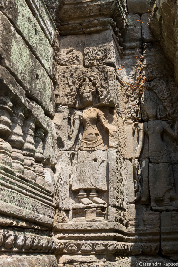 Angkor Temple Stone Art