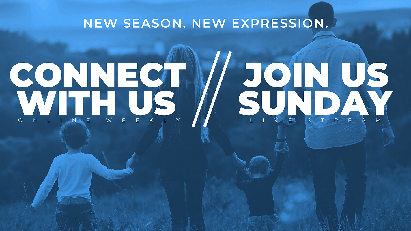JOIN US FOR ONE OF OUR WEEKEND SERVICES-