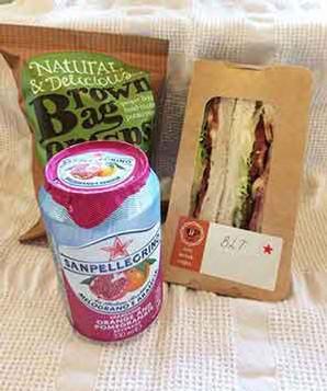 Sandwich meal deal in Redditch