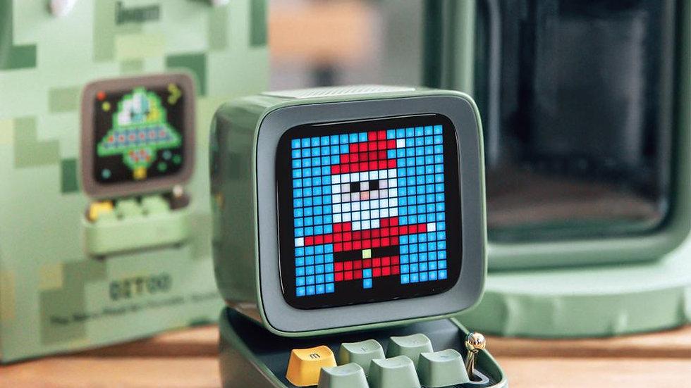 Divoom Pixel Art Bluetooth Portable Speaker Alarm Clock DIY LED Display Board