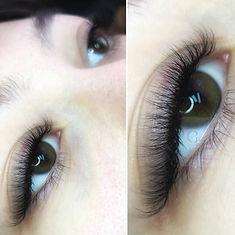 Natural Volume Lash Extensions, Volume Lashes, Full volume eyelash extensions