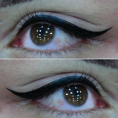 yüksel biçer eyeliner