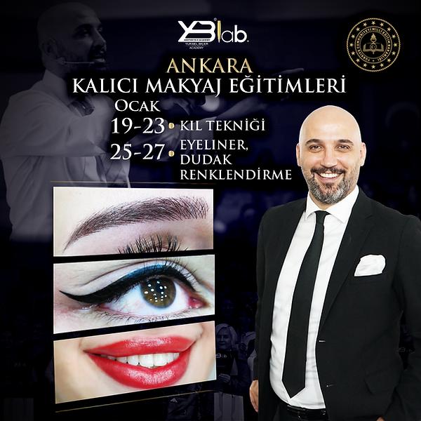 yüksel biçer akademi eyeliner eğitimi