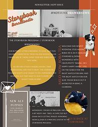 Storybook Bernedoodle Puppy Newsletter