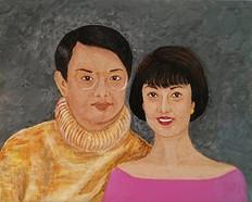 Sally Wu, acrylic
