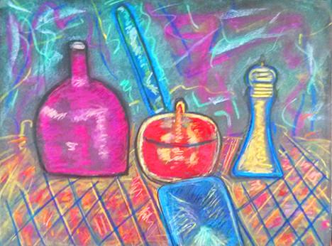 Melody Marks, pastels