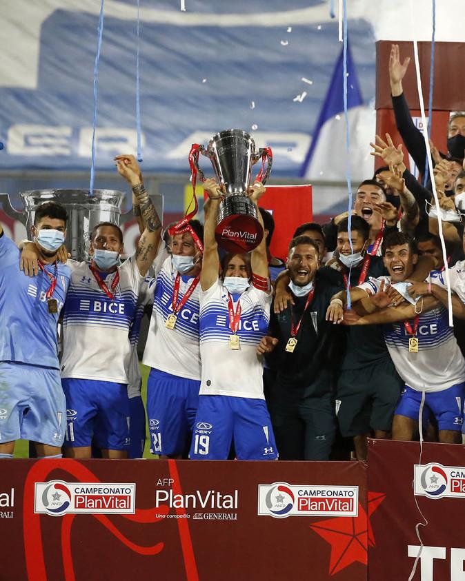 [FOTOS] U. Católica tricampeón del fútbol chileno