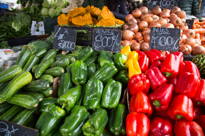 Vegetales como alternativa económica y saludable para festejar Fiestas Patrias