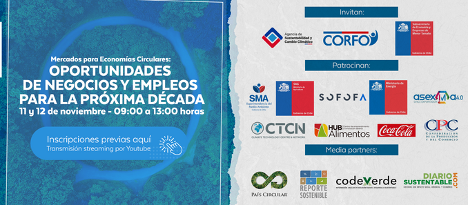 Congreso internacional abordará la economía circular comopuente para crear nuevas oportunidades