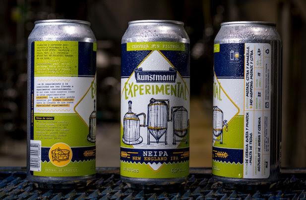 Kunstmann trae nueva cerveza experimental enlatada