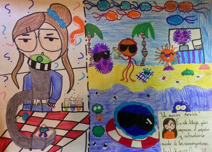 Niñ@s podrán participar del III Concurso de Dibujo sobre Microorganismos en vacaciones de invierno