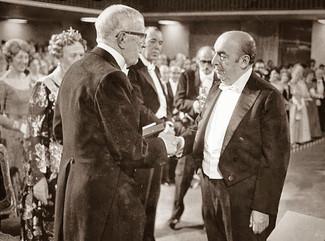 Franco Simone invita a visitar exposición virtual dedicada a Neruda por los 50 años del Premio Nobel