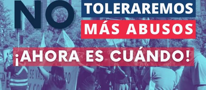 Trabajadores del METRO de Santiago se van a paro este miércoles