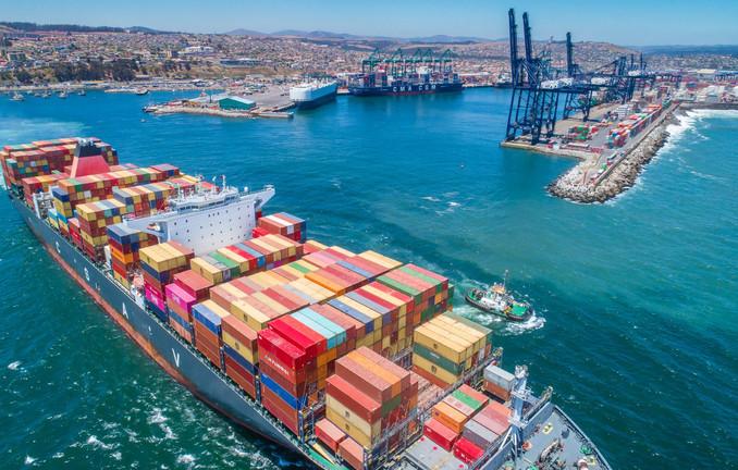 Puerto San Antonio tuvo su mayor registro de atención de naves del último año