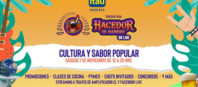 Se viene la III Feria Hacedor de Hambre, ONLINE y gratuita