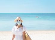 Dermatólogo aconseja cómo usarmascarilla en la playa para no afectar la piel