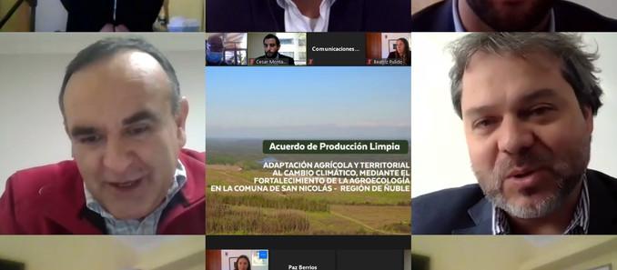 Acuerdo de Producción Limpia beneficiará laproducción agroecológica en San Nicolás