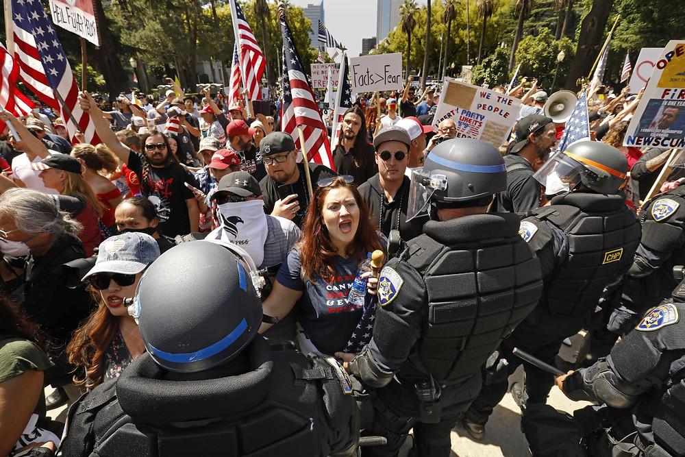 EEUU Rally protesta