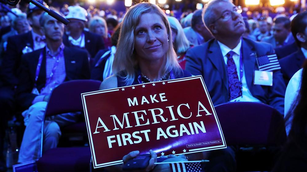 America First consigna