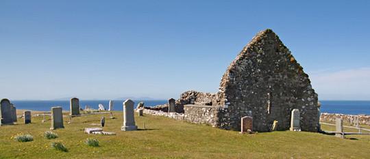 Trumpman Castle's ruins