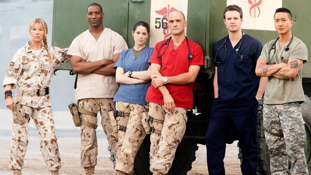 Combat Hospital Cast Photo