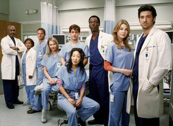 Grey's Anatomy Season 1 Cast Picture