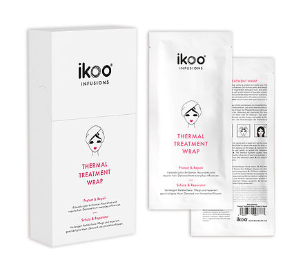 IKOO - Infusions - Thermal Hair Treatment Wrap (5pc)