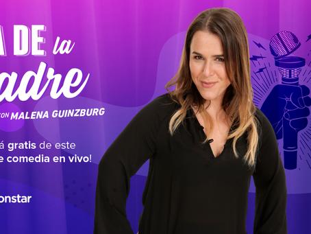 Día de la Madre en Cuponstar: ¡Show de Stand Up de Malena Guinzburg!