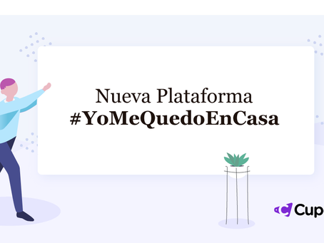 Nueva plataforma en tiempos de COVID-19: #YoMeQuedoEnCasa