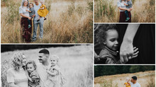 Aziz Family Fall Session at Powell Butte Nature Park