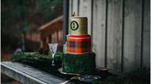 Christmas Wedding in Hood River, Oregon at Miller Farm Retreat