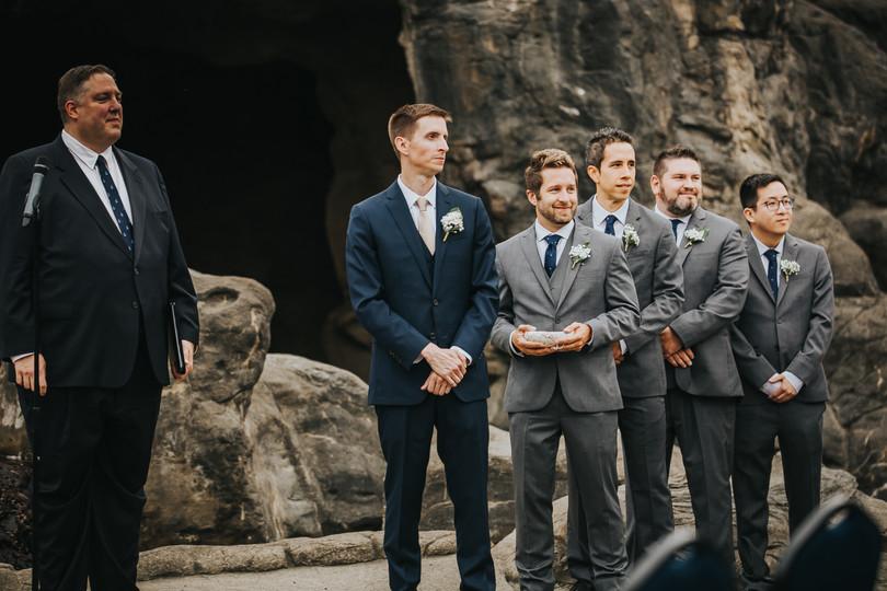 Eva Grant Oregon Coast Aquarium Wedding