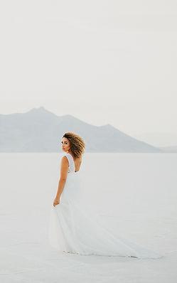Bonneville Salt Flats SLC Utah Wedding P