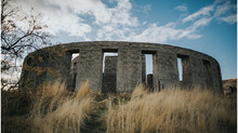 Washington Stonehenge Monument, Columbia River Gorge Elopement