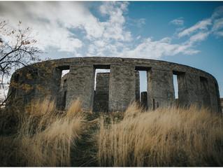 Washington Stonehenge Monument, Columbia River Gorge Elopement