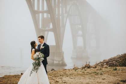 Eva Grant Oregon Coast Aquarium Wedding