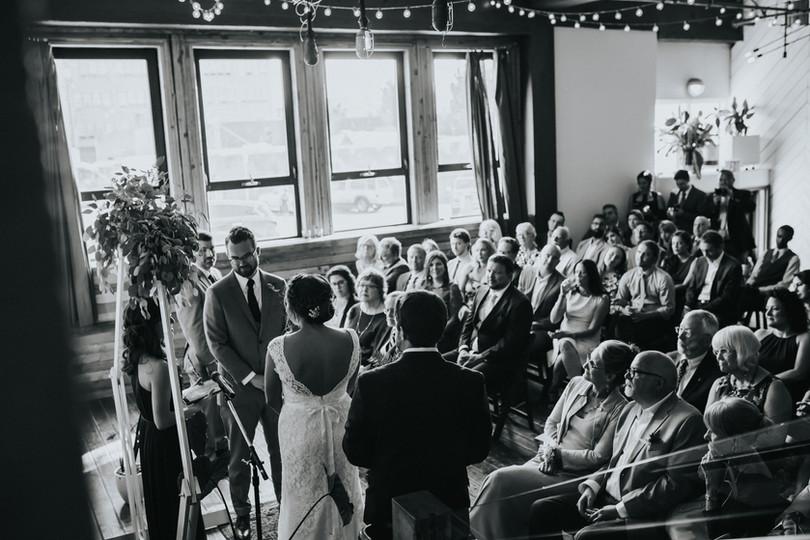 Stef Jeff Union Pine Portland Oregon Wed