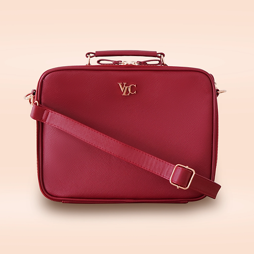 Medium Travel Bag - Berry